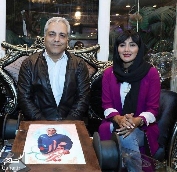 329290 Gahar ir عکس مریم معصومی کنار مهران مدیری در روز تولدش