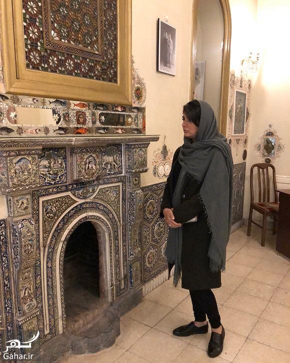 422901 Gahar ir عکسهای لیندا کیانی در موزه محسن مقدم