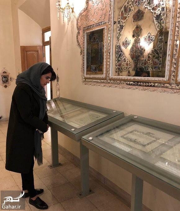 665414 Gahar ir عکسهای لیندا کیانی در موزه محسن مقدم