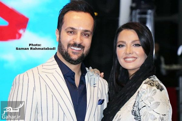 751363 Gahar ir احمد مهرانفر و همسرش در اکران خصوصی فیلم خجالت نکش / 6 عکس