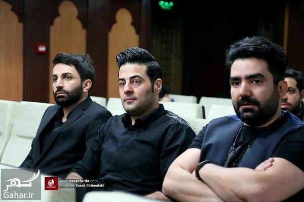 756815 Gahar ir عکسهای مراسم ختم مادر علی عبدالمالکی با حضور هنرمندان و بازیگران