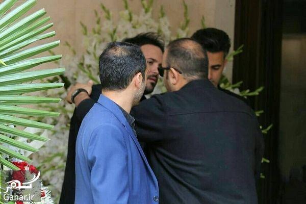 803706 Gahar ir عکسهای مراسم ختم مادر علی عبدالمالکی با حضور هنرمندان و بازیگران
