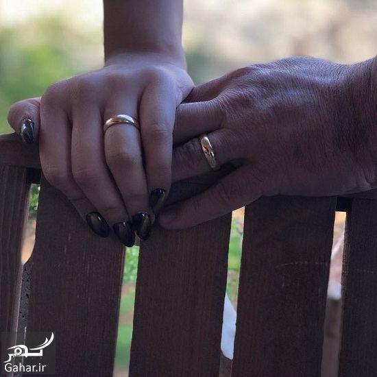 849019 Gahar ir ازدواج احمد مهرانفر با خانم مدل / عکس
