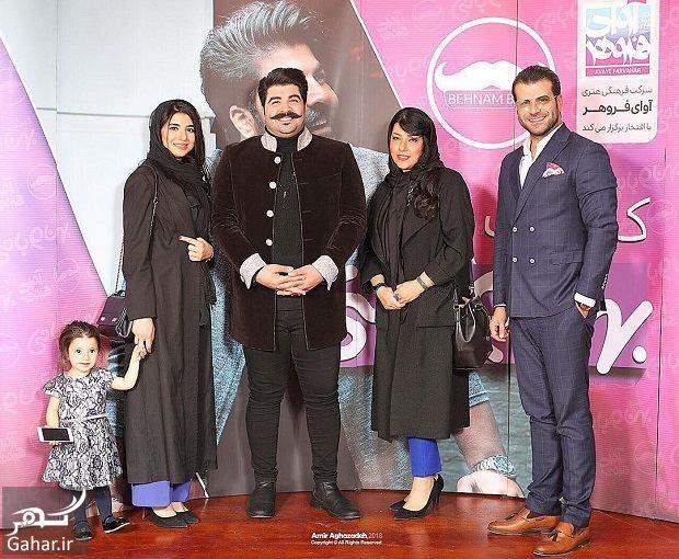 886444 Gahar ir عکس کنسرت بهنام بانی با حضور خواهرش و همسر شهاب حسینی