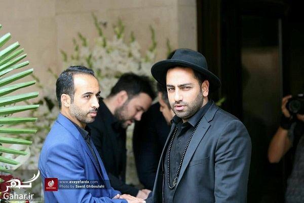 898361 Gahar ir عکسهای مراسم ختم مادر علی عبدالمالکی با حضور هنرمندان و بازیگران
