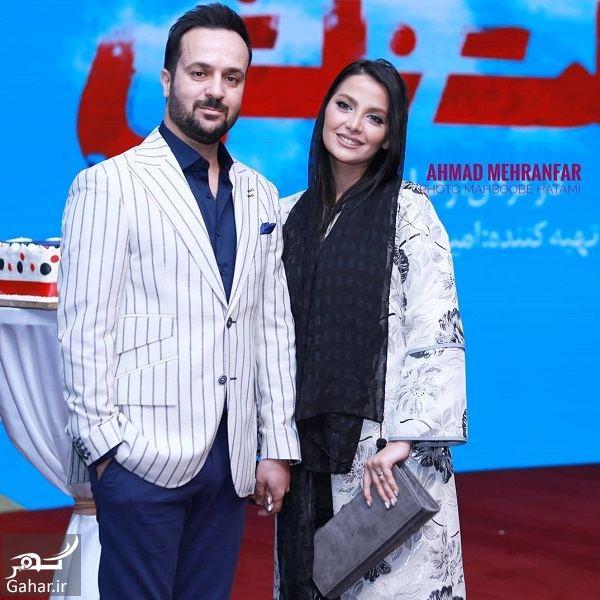 915457 Gahar ir احمد مهرانفر و همسرش در اکران خصوصی فیلم خجالت نکش / 6 عکس