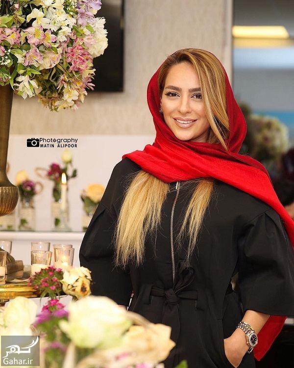 959863 Gahar ir تیپ متفاوت سمانه پاکدل در افتتاحیه یک کلینیک / 3 عکس