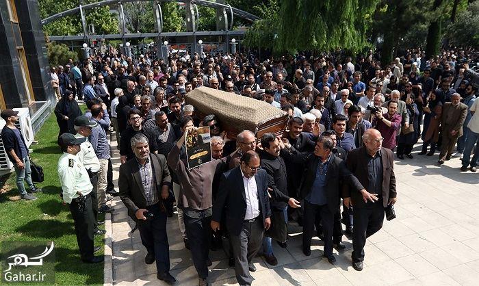 051017 Gahar ir عکسهای مراسم خاکسپاری ناصر چشم آذر با حضور هنرمندان