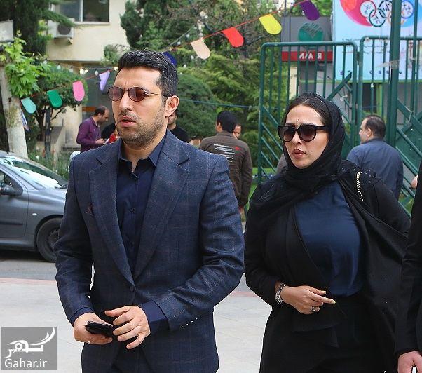 253906 Gahar ir عکسهای مراسم ختم ناصر چشم آذر با حضور هنرمندان