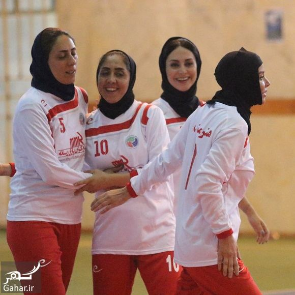 296005 Gahar ir عکسهای مریم خدارحمی در تیم فوتسال هنرمندان