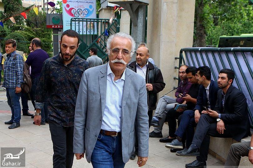 316632 Gahar ir عکسهای مراسم ختم ناصر چشم آذر با حضور هنرمندان