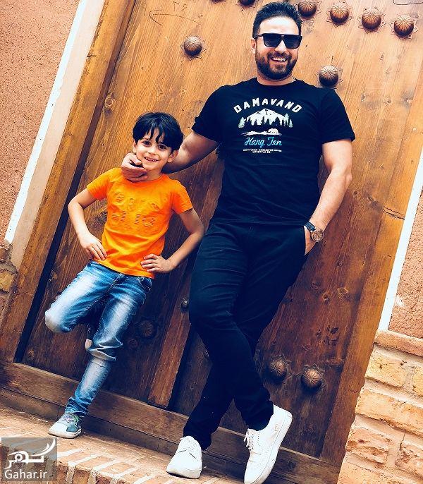 465944 Gahar ir تفریحات بابک جهانبخش و خانواده اش در کاشان / 3 عکس