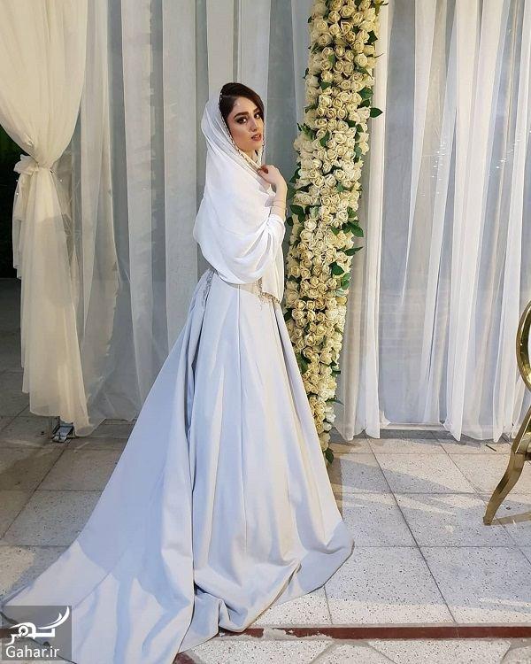 480581 Gahar ir تیپ متفاوت هانیه غلامی در عروسی خاله اش / عکس