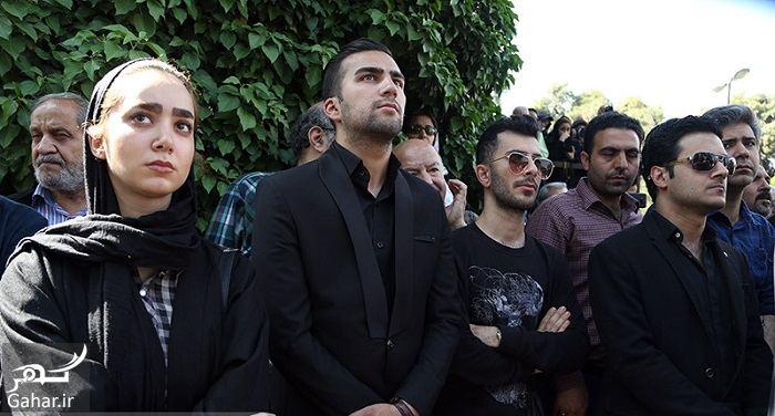 481847 Gahar ir عکسهای مراسم خاکسپاری ناصر چشم آذر با حضور هنرمندان