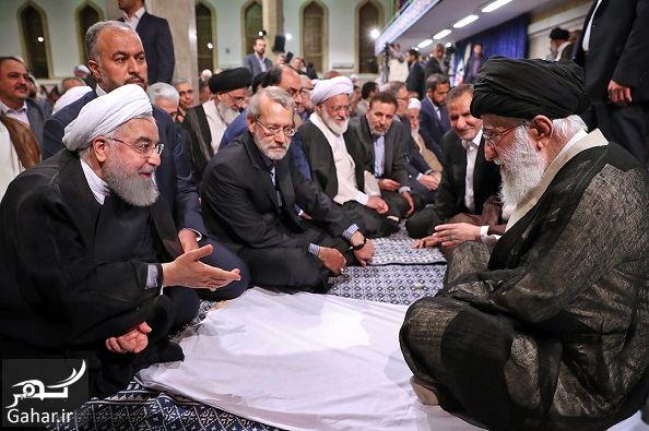 558704 Gahar ir عکسهای دیدنی از دیدار رهبری با سران و فعالان سیاسی فرهنگی