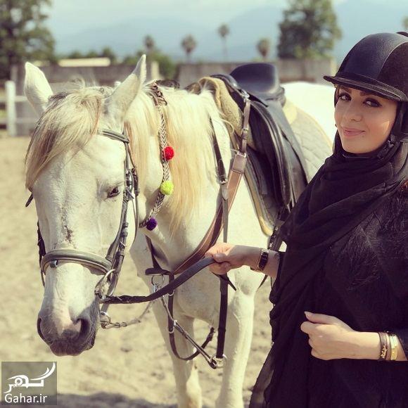 565091 Gahar ir عکسهای اسب سواری خانم مجری