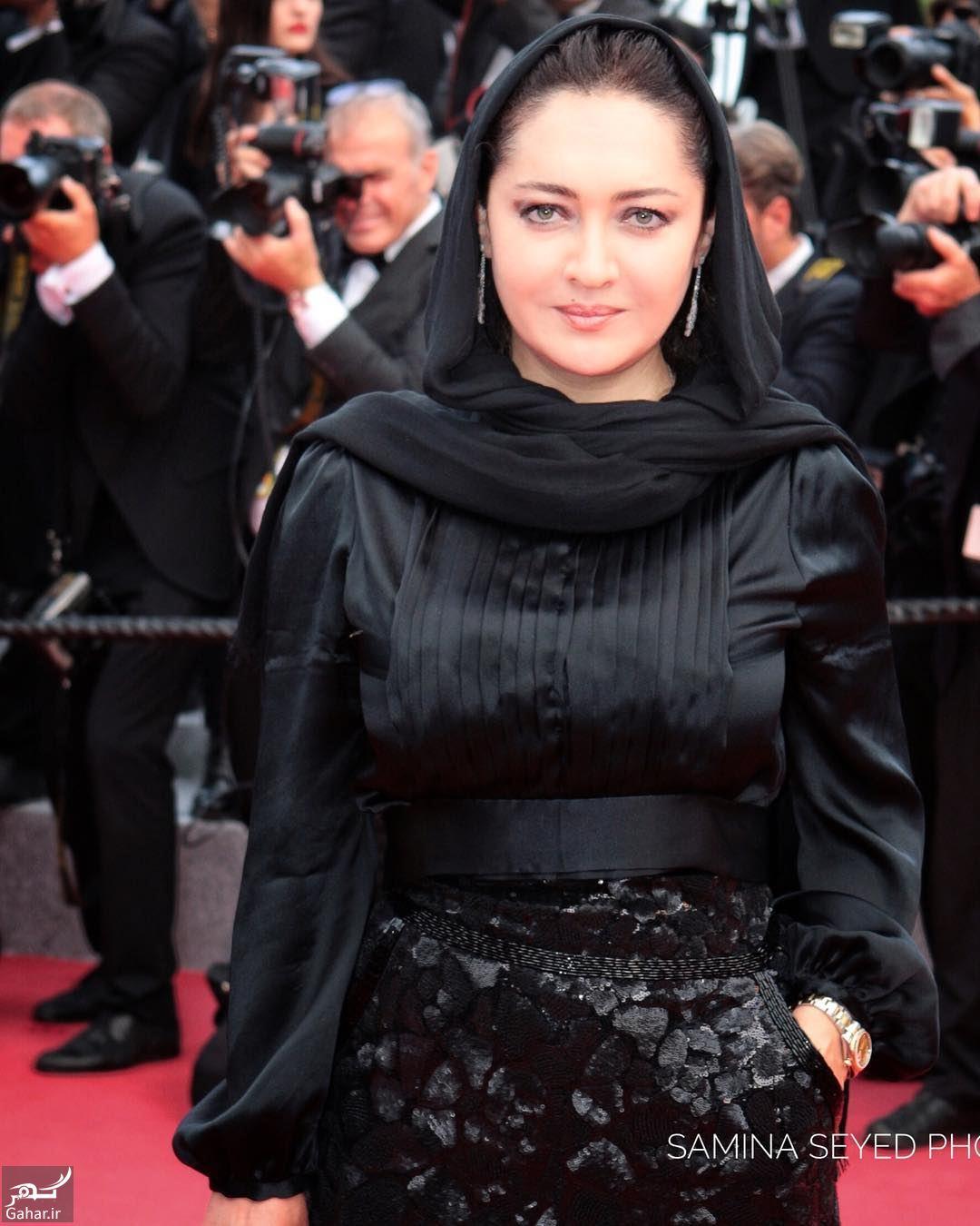 667503 Gahar ir استایل خاص نیکی کریمی در جشنواره کن 2018 / تصاویر