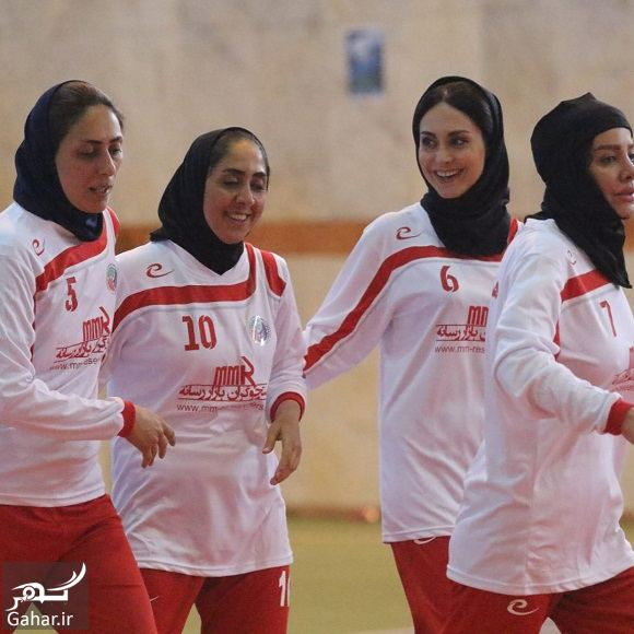 866715 Gahar ir عکسهای مریم خدارحمی در تیم فوتسال هنرمندان