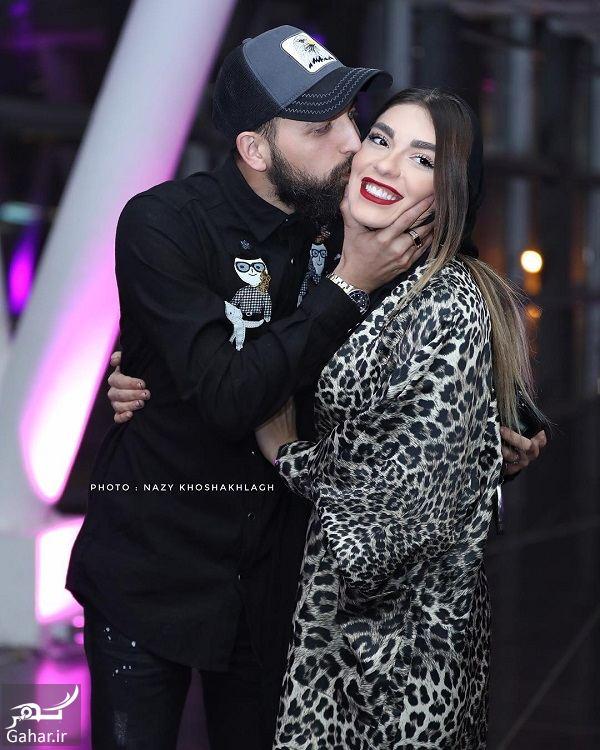 888138 Gahar ir عکسهای محسن افشانی و همسرش در افتتاحیه ساخت ایران 2