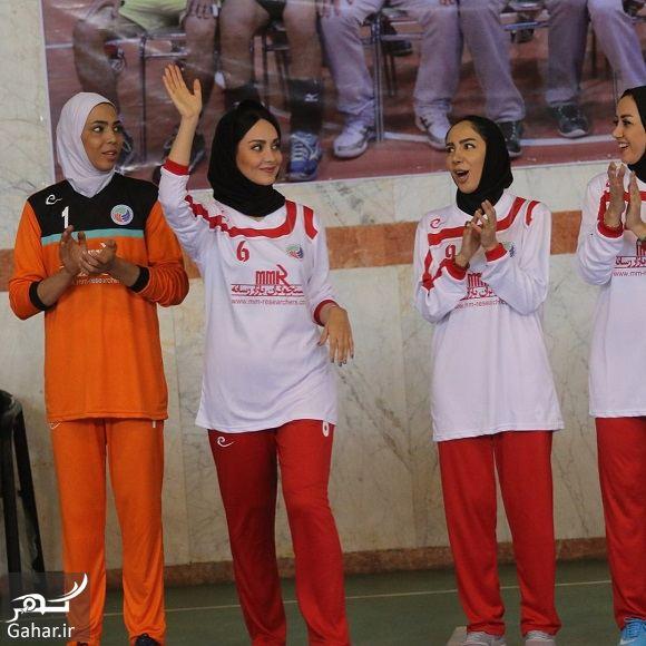 904379 Gahar ir عکسهای مریم خدارحمی در تیم فوتسال هنرمندان