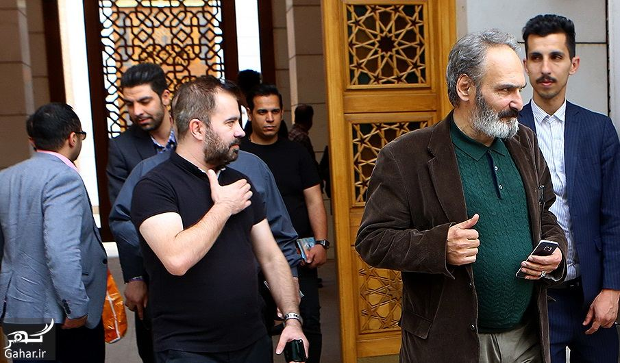 954554 Gahar ir عکسهای مراسم ختم ناصر چشم آذر با حضور هنرمندان