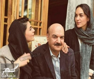961265 Gahar ir عکس ایرج طهماسب در کنار دخترانش