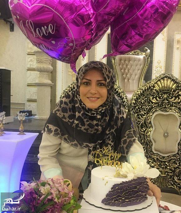 042516 Gahar ir عکسهای تولد شیک خانم مجری شبکه خبر