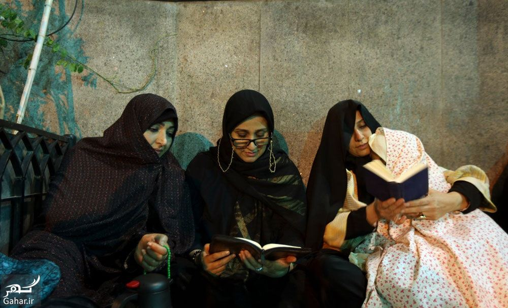 091371 Gahar ir عکسهای مراسم احیا شب نوزدهم رمضان 97 در امامزاده صالح تجریش