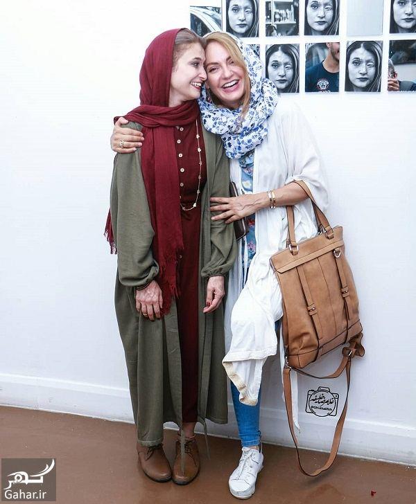 095762 Gahar ir عکس های دیدنی مهناز افشار در افتتاحیه نمایشگاه انفرادی عکس