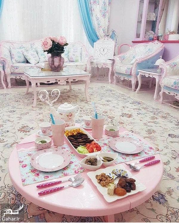 195558 Gahar ir عکسهای منزل نو عروس با تم صورتی سری نهم (چیدمان ، مبلمان ، آشپزخانه و … )