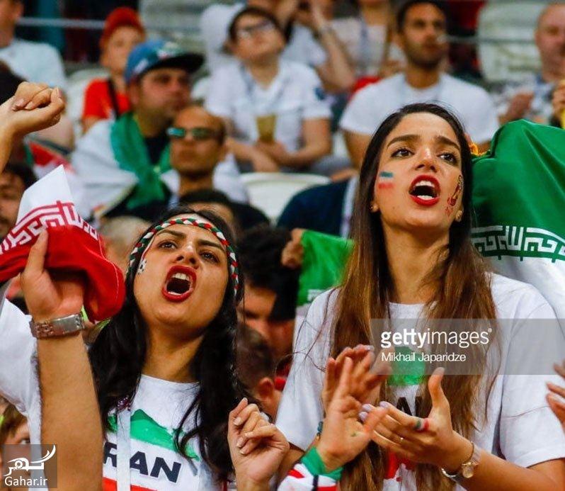 308842 Gahar ir عکس تماشاگران ایرانی در بازی ایران پرتغال در روسیه / 22 عکس