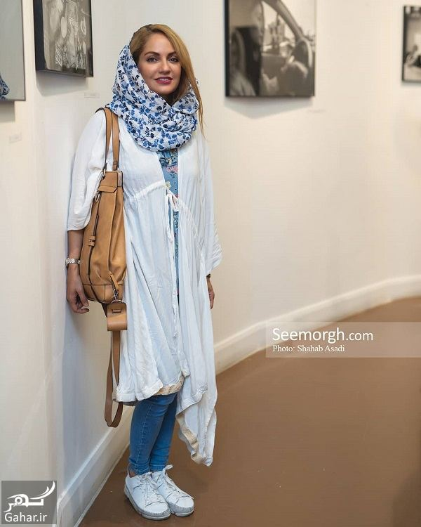 499274 Gahar ir عکس های دیدنی مهناز افشار در افتتاحیه نمایشگاه انفرادی عکس