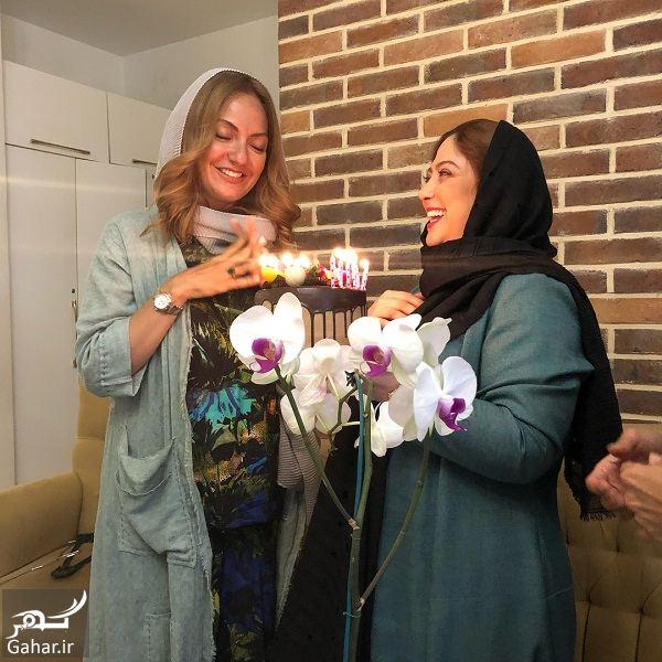 546213 Gahar ir جشن تولد 41 سالگی مهناز افشار در کنار خواهرش و مریم سلطانی / 5 عکس