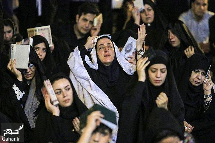 731803 Gahar ir عکسهای مراسم احیای شب بیست و سوم رمضان 97