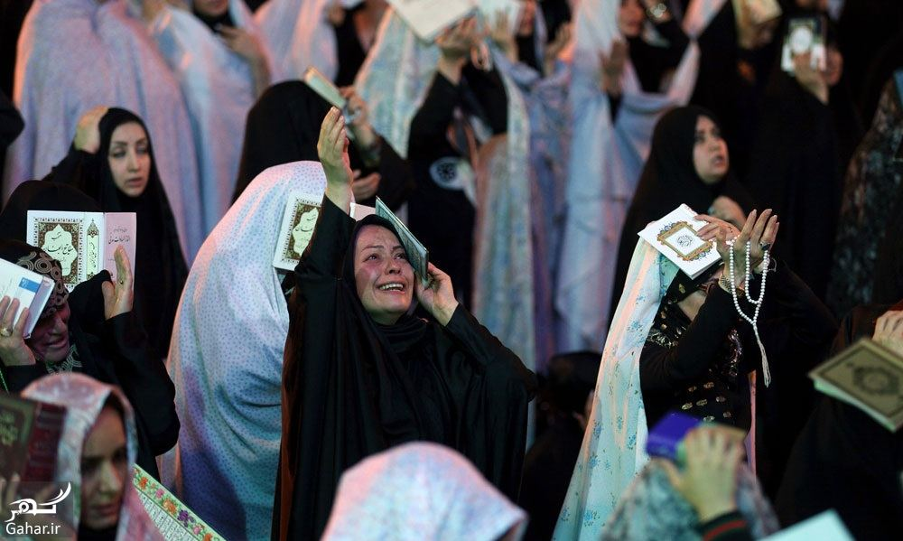 816812 Gahar ir عکسهای مراسم احیا شب نوزدهم رمضان 97 در امامزاده صالح تجریش