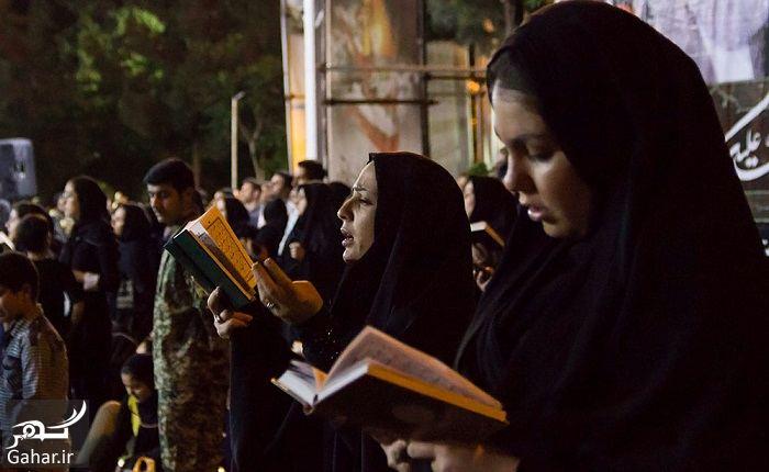 848895 Gahar ir عکسهای مراسم احیای شب بیست و سوم رمضان 97