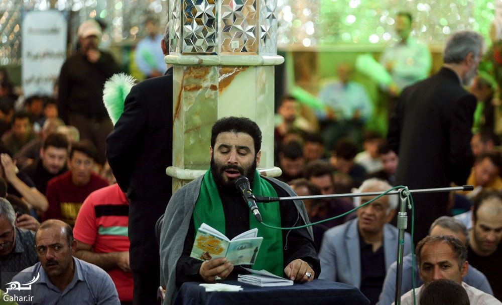 889277 Gahar ir عکسهای مراسم احیا شب نوزدهم رمضان 97 در امامزاده صالح تجریش