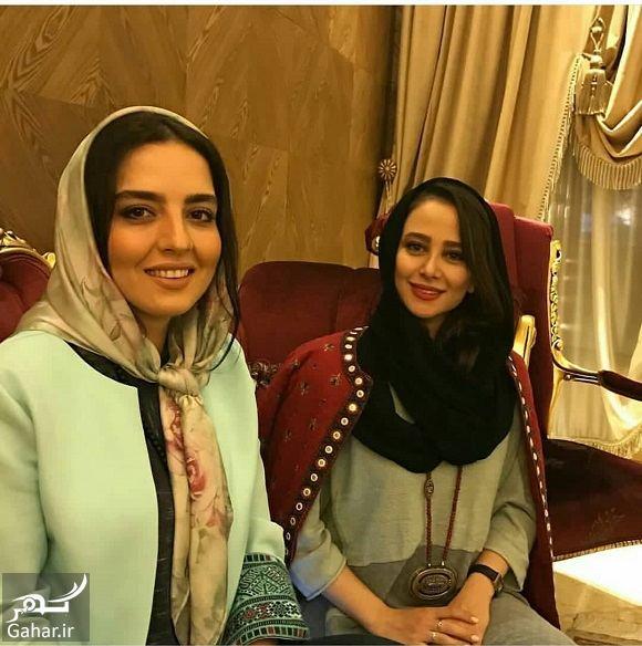 944911 Gahar ir عکس دوستانه الناز حبیبی و خواهر نرگس محمدی
