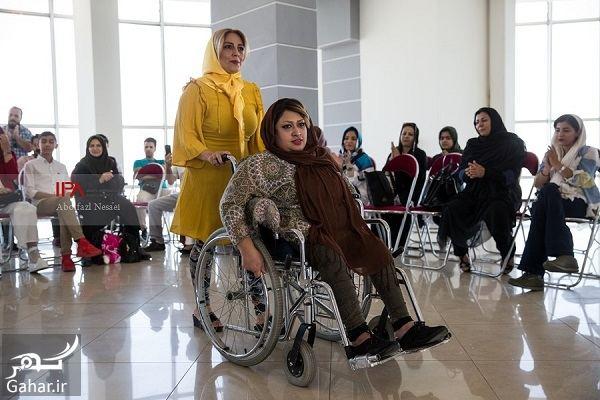 054112 Gahar ir عکسهای فشن شوی معلولین در تهران