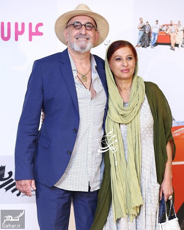عکس های بازیگران و همسرانشان در اکران فیلم هزارپا