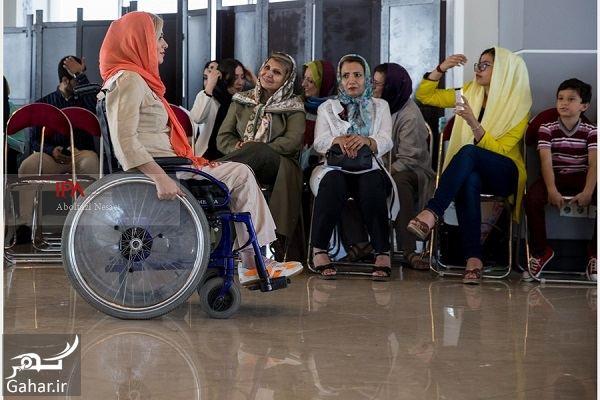 298994 Gahar ir عکسهای فشن شوی معلولین در تهران