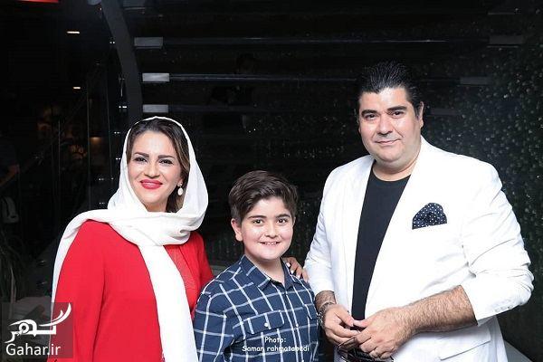386604 Gahar ir عکس های سالار عقیلی و همسر و پسرش در اکران فیلم سریک