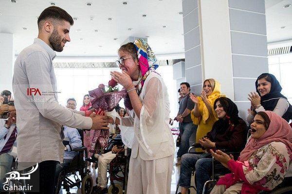 441075 Gahar ir عکسهای فشن شوی معلولین در تهران