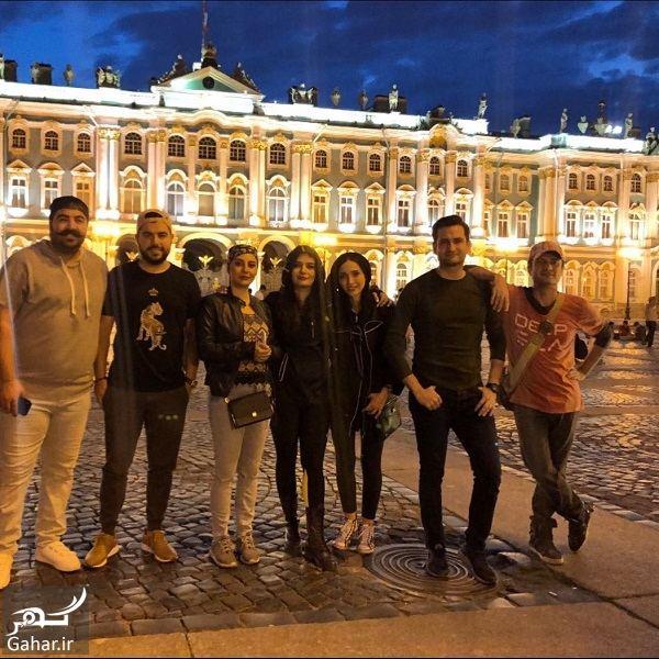 450095 Gahar ir لیندا کیانی در کنار هنرمندان معروف در روسیه / 6 عکس
