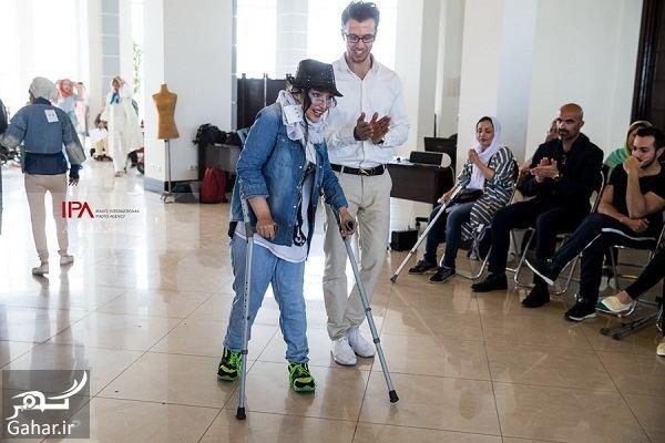 473252 Gahar ir عکسهای فشن شوی معلولین در تهران