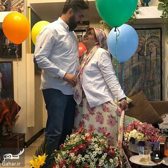 543455 Gahar ir عکسهای سالگرد ازدواج بهاره رهنما و همسر جدیدش