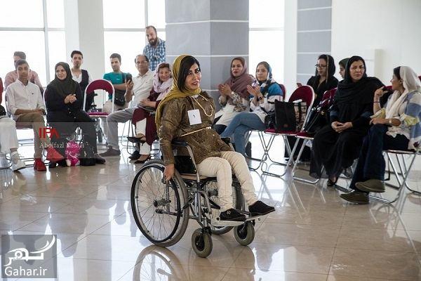 576239 Gahar ir عکسهای فشن شوی معلولین در تهران