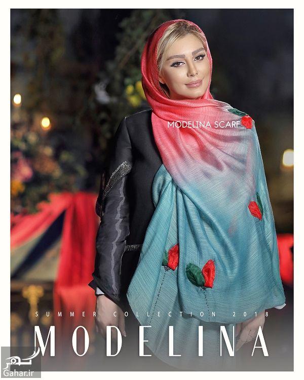 645438 Gahar ir عکسهای مدلینگ سحر قریشی برای برند شال و روسری !