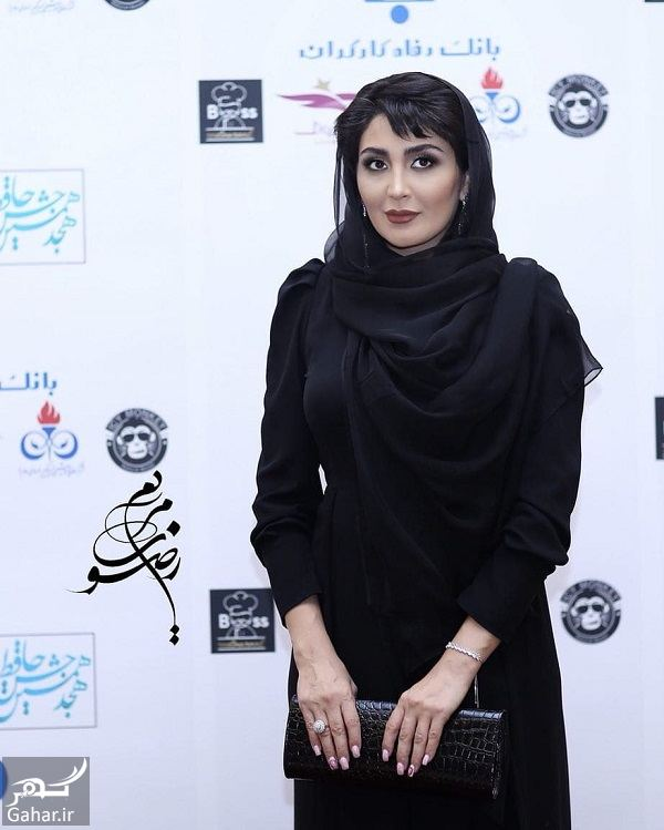 110592 Gahar ir استایل خاص مریم معصومی در هجدهمین جشن حافظ / 5 عکس