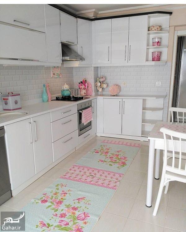 736511 Gahar ir آشپزخانه های شیک با کابینت های مدرن 2018 / 10 عکس